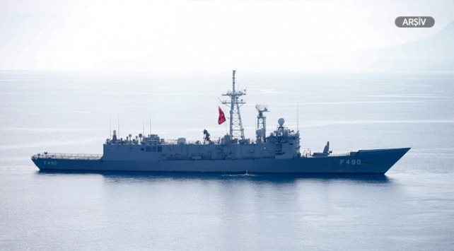 Türk ve Pakistan donanmasından ortak tatbikat