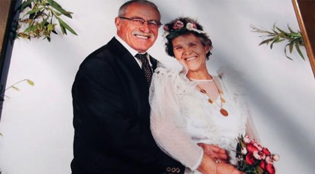 50 yıl sonra düğün fotoğrafı çektirdiler