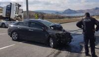 Tunceli'de minibüs ile otomobil çarpıştı: 7 yaralı