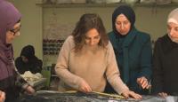 Türkiye'ye sığınan Suriyeli kadınların hazırladıkları tasarımlar Londra'da tanıtılacak