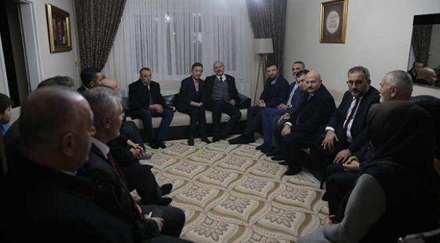 Bakan Soyludan 15 Temmuz şehidinin ailesine ziyaret