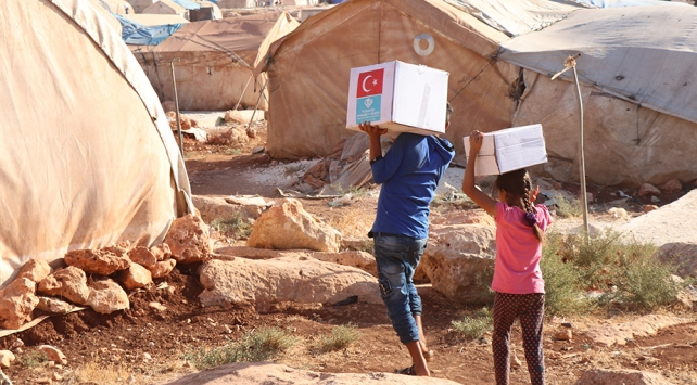 Türkiye, 2017'de ABD'den daha fazla insani yardım yaptı