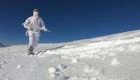 TRT Haber, jandarma komandoların kış eğitimine eşlik etti