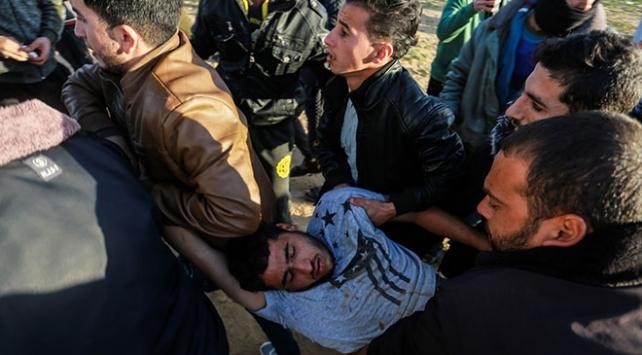 İsrail askerleri Gazzede 9 Filistinliyi yaraladı