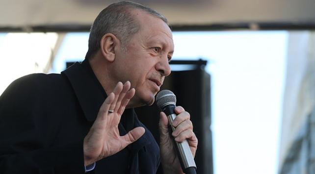 Cumhurbaşkanı Erdoğan: Ne pahasına olursa olsun terör koridorunu yıkacağız