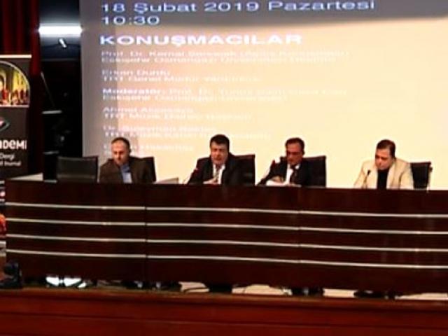 TRT Akademi Söyleşileri'nin durağı Eskişehir'di