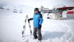 71 yıldır kayak pistlerinde