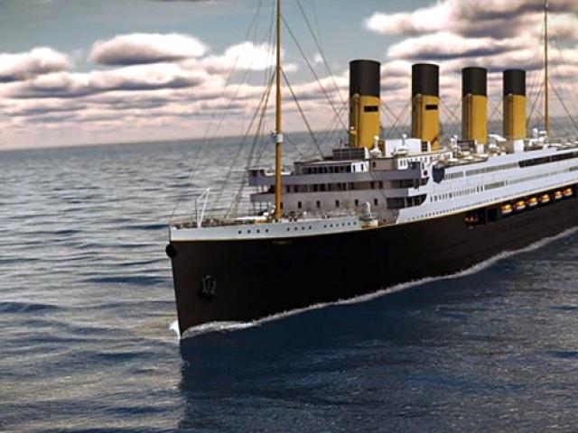 Titanik 2 denize inmek için gün sayıyor