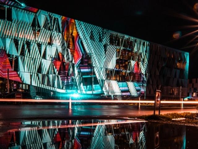 Danimarka'da kışın karanlığını aydınlatan ışık festivali