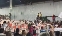 Arjantin'de karnavalda platform çöktü: 34 yaralı
