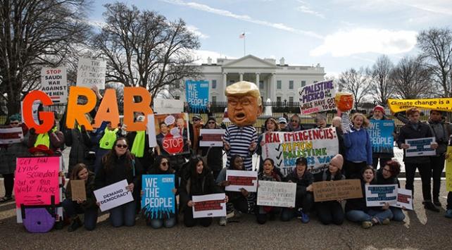 "ABDde ""ulusal acil durum"" protestosu"