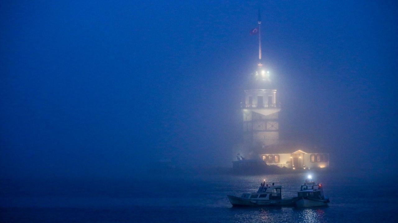 İstanbulda sis