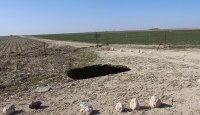 Konya'da 10 ve 20 metre derinliklerinde obruklar oluştu
