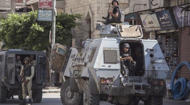 Mısırın Sina Yarımadasındaki operasyonlarda 16 kişi öldürüldü