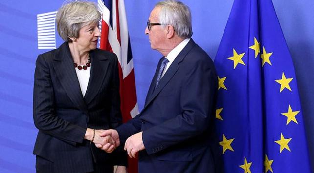 May ile Juncker Brükselde görüşecek