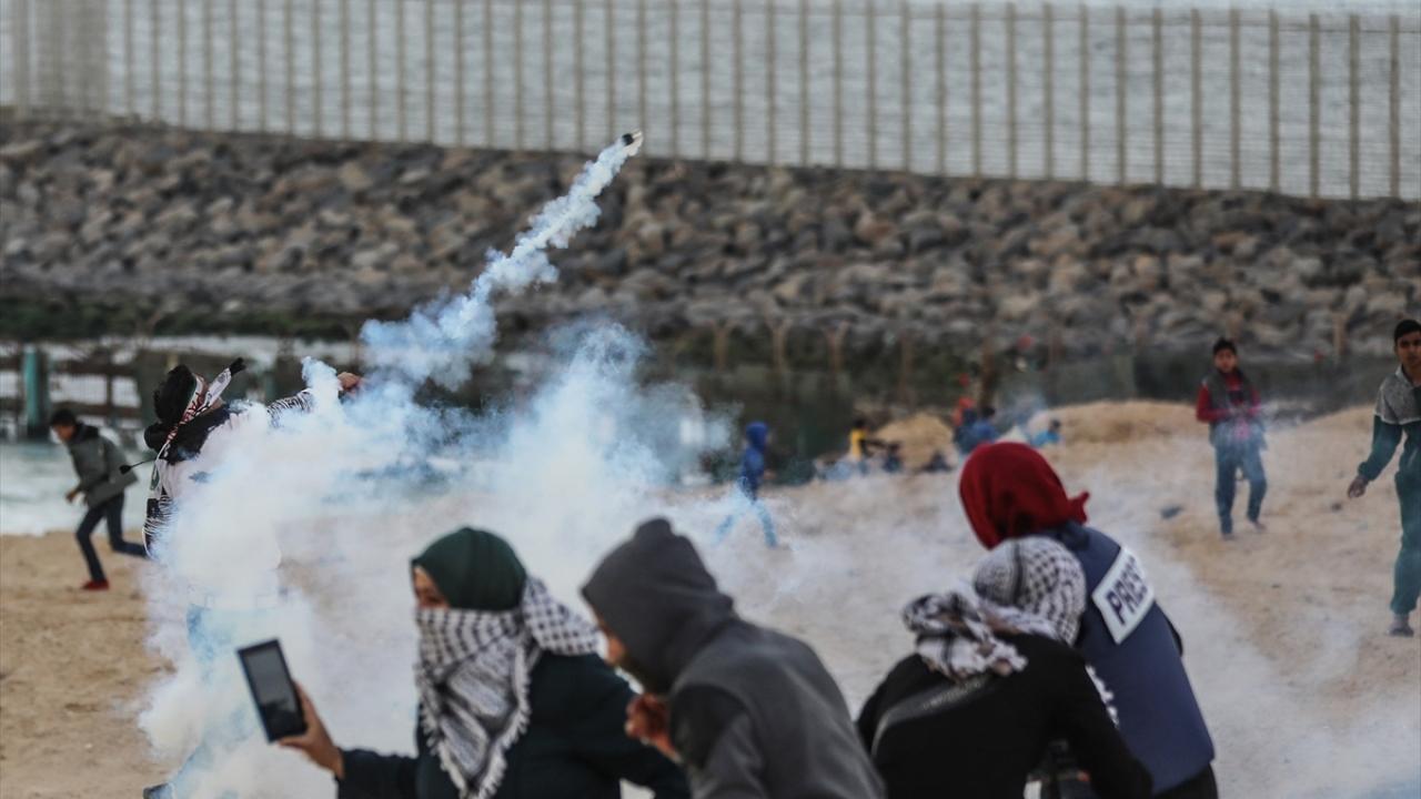 İsrail askerleri 20 Filistinliyi yaraladı
