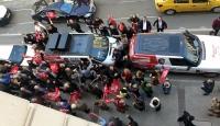 """CHP İzmir İl Başkanlığı önünde """"Buca"""" protestosu"""