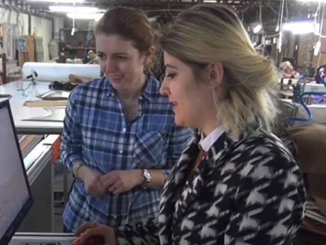 İnegöllü kadın girişimci Avrupa'ya koltuk ihraç ediyor