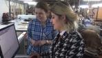 İnegöllü kadın girişimci Avrupaya koltuk ihraç ediyor