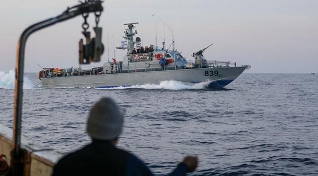 İsrail güçleri Filistinli 2 balıkçıyı gözaltına aldı