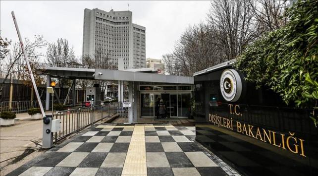 Dışişleri Bakanlığı: APnin 2018 Türkiye Raporu Taslağı kabul edilemez