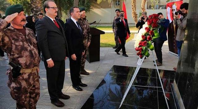 TİKA'nın Irak'ta yenilediği Türk Şehitliği açıldı