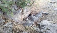 Hakurk'ta teröristlerin kullandığı sığınak ve barınaklar imha edildi