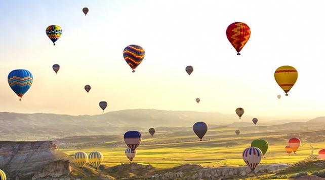 Kapadokya'da balon turizmi