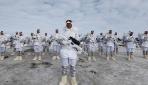 Mehmetçik çetin kış şartlarında vatan nöbetinde