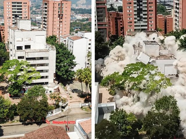 Pablo Escobar'ın evi yıkıldı