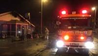 Silivri'de restoranda yangın