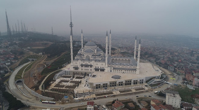 Çamlıca Camii 7 Martta ibadete açılacak