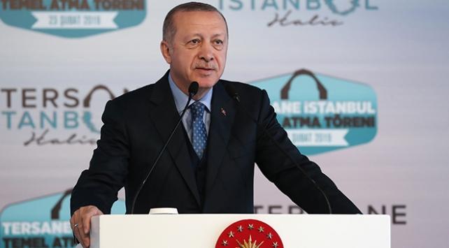Cumhurbaşkanı Erdoğan: Tersane İstanbul, İstanbulumuzun marka değerini artıracak
