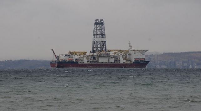 Türkiye'nin ikinci sondaj gemisi Yalova'ya ulaştı