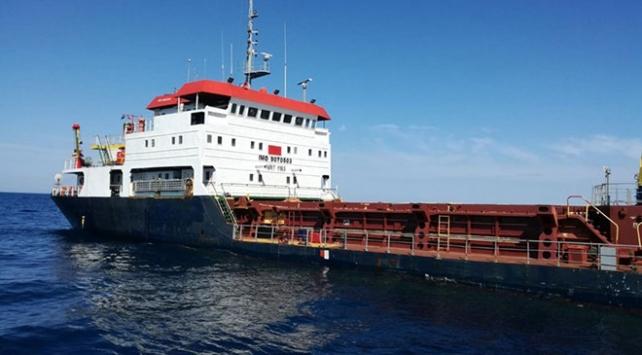 İtalyada Türk gemisi karaya oturdu