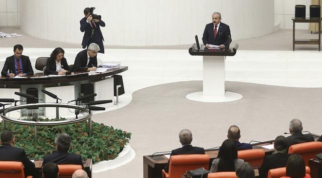 TBMMnin yeni Başkanı Mustafa Şentop oldu
