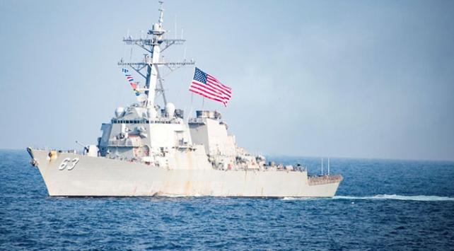 ABD donanmasına ait 2 savaş gemisi Tayvan Boğazından geçti