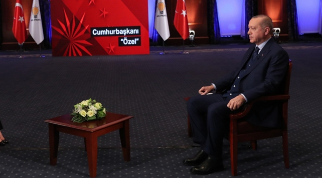 Cumhurbaşkanı Erdoğan: Meydanlar benim için en büyük anket