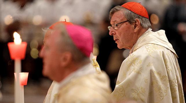 Çocuklara cinsel tacizden suçlu bulunan Avustralya Kardinali gözaltında
