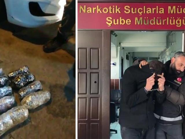 Ankarada 80 kiloyu aşkın uyuşturucu madde yakalandı