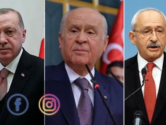 Liderlerin seçim öncesi sosyal medya yarışı hızlandı
