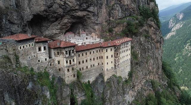 Sümela Manastırının ilk bölümü 18 Mayısta açılıyor