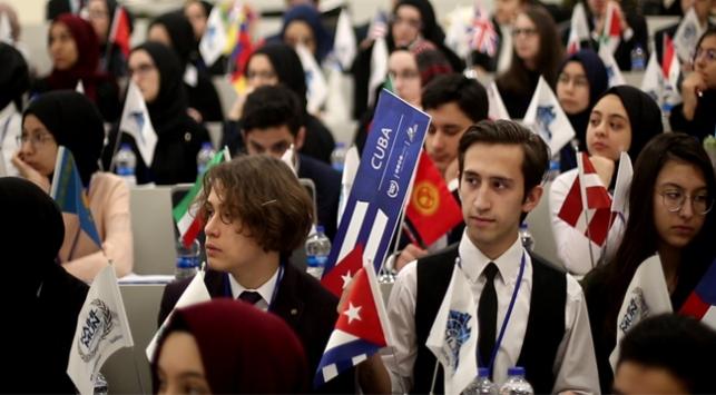 Model Birleşmiş Milletler Konferansı öğrencileri İstanbulda buluşturdu