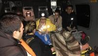 Metal para yutan çocuk helikopterle hastaneye ulaştırıldı