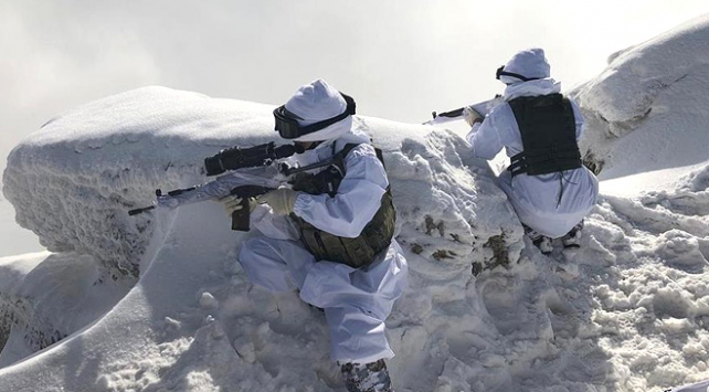 PKKnın kış üslenmesine dev operasyon