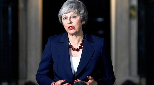 Theresa May Skripal olayını anarken yanlış fotoğraf kullandı