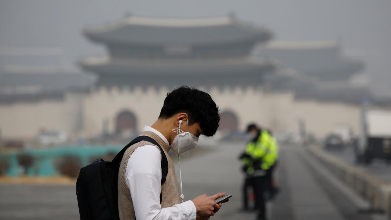 Güney Korede hava kirliliği alarmı