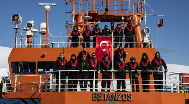Türk bilim insanlarının Antarktikadaki zorlu seferi