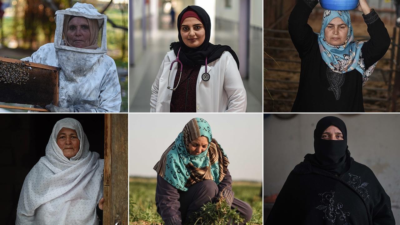 """Gazzede """"8 Mart Dünya Kadınlar Günü"""""""