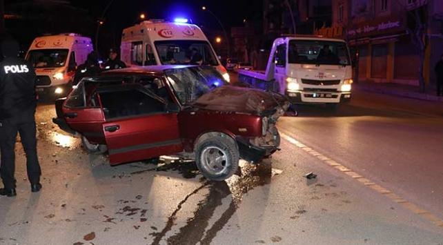 Karamanda trafik kazası: 5 yaralı